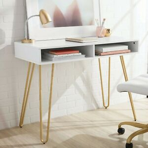 Hairpin Writing Desk, Multiple Finishes