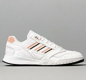 Adidas Originals A.R Trainer men's sneakers shoes white/ pink/black EE5398 NEW