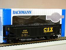 BACHMANN HO SCALE CSX 40' QUAD COAL HOPPER CAR train gauge load ore BAC17618 NEW