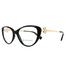 Bvlgari Glasses Frames 4146B 501 Black 52mm Womens