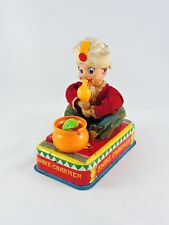 Battery Operated SNAKE CHARMER & Casey the Trained Cobra Linemar Toys Japan Marx