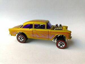 Hot Wheels 55 Chevy Bel Air Gasser Redline Heritage Series loose
