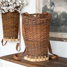 Willow Picking Basket Wall or Freestanding