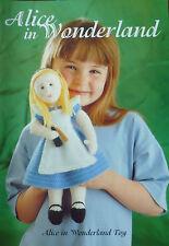 Alice in Wonderland doll Knitting Pattern (Alan Dart)