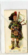 More details for (ga6748-318) players, old englands defenders, #47 78th highlanders 1898 g-vg