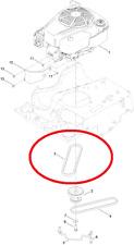 Genuine TORO Timemaster 20975 Motore Puleggia Cinghia di trasmissione PTO 121-5765 563 # X