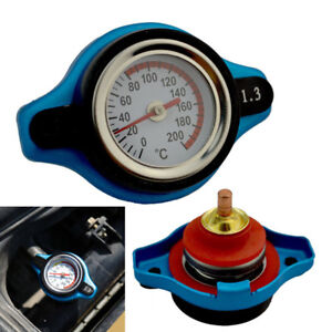 1.3 Bar Thermo Thermostatic Radiator Cap Cover Water Temperature Gauge Novel