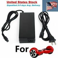Power Adapter Charger For 2 Wheel Self Balancing hoverboard Scooter Unicycle US