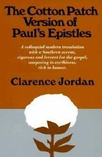 The Cotton Patch Version of Paul's Epistles, Jordan, Clarence, Good Condition, B