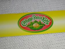 """Toys R Us STORE DISPLAY SIGN SHELF TALKER Cabbage Patch Kids 48"""" long 1 1/4""""high"""