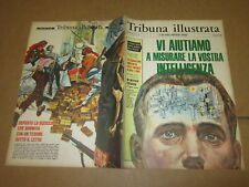 TRIBUNA ILLUSTRATA N°35/1966 AGA KHAN BOBBY MOORE MARIA GRAZIA SPINA