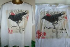 CALEXICO- GARDEN RUIN-  BRILLIANT ALBUM SLEEVE  ART T SHIRT- WHITE - EXTRA LARGE