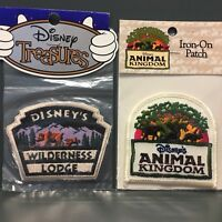 New Vintage Disney Lot Animal Kingdom & Wilderness Lodge Iron-on Patch Patches