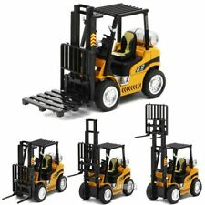1/24 Scale 14.5CM Fork Lift Truck Engineering Construction Car Alloy Model Toy
