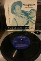 "Vic Dickenson Septet – Sir Charles At Home E.P Jazz 7"" Vinyl Plays VG+"