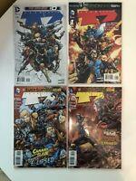 Lot of 4 Team 7 Volume 2 #0 1 2 3 DC Comics (2012-2013) New 52