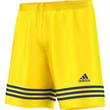 adidas Pantaloncini Shorts CALCIO Men Supplies Entrada Climalite XL Boy Yellow - F50635