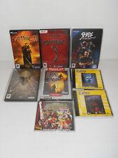 Lotto 8 giochi PC - Gothic II e 3, Silver, Heart of Darkness, Alone in the Dark