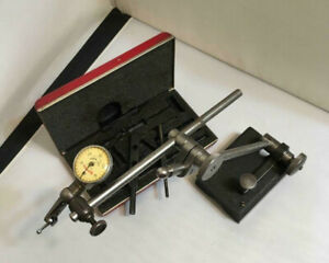 Starrett 711 Last Word Indicator in Original Case and Unbranded Surface Gage