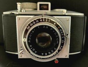 Agfa Karat Kamera mit Apotar 1:3,5 F5.5cm Objektiv