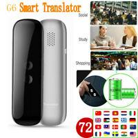 Portable Smart Voice Translator -72 Languages Two-Way INSTANT live translation
