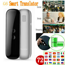Portable Smart Translator Two-Way Instant Voice Photograph Translaty 72 Language