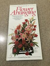 Book The Creative Art of Flower Arranging by Jan Hall - 1989 Hardcover