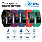Smart Watch Band Sport Fitness Activity Tracker For Kids Fit Bit iOS Android UK