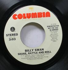 Rock Promo Nm! 45 Billy Swan - Shake, Rattle And Roll / I Got It For You On Colu