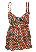 NEW LADIES SUMMER CAMI STRAPPY VEST SUN TOP SIZE 12-20