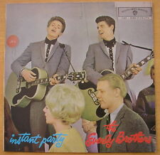EVERLY BROTHERS - AUSTRALIAN Instant Party LP - Excellent+ MONO