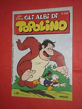 ALBI DELLA ROSA POI albi di TOPOLINO  N°1344  MONDADORI DISNEY 1980