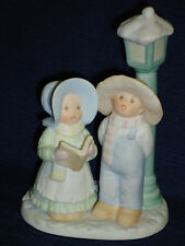 Homco Circle of Friends Joy To The World Christmas Figurine 1992