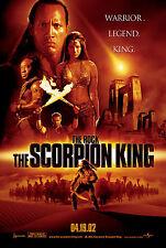 THE SCORPION KING (2002) ORIGINAL ADVANCE B MINI 11 X 17 MOVIE POSTER  -  ROLLED