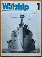 Wingate - Warship Profile #1 - HMS Dreanought - Profile Publications 1970