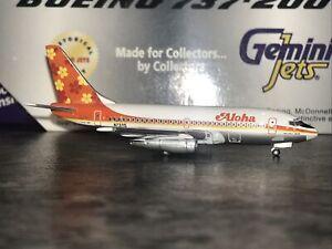 Gemini Jets 1:400 Aloha Airlines Boeing 737-200 GJAAH155 N73711