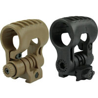 Scope Mount Tactical Light Mount to Hold 25.4mm Diameter Black/ Dark Earth