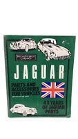 Special Interest Car Parts Jaguar Vehicles from '48-'91 Manual Catalog Mechanic