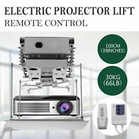 Projector Bracket Motorized Lift Projector Lift With Remote Control Hidden 110V