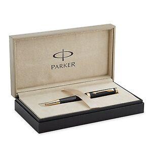 Parker Premier Ballpoint pen Deep Gloss Black Lacquer with Gold Trim S0887840