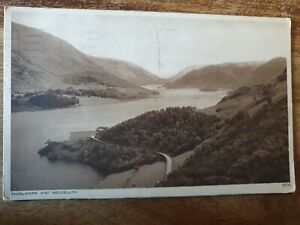 THIRLMERE AND HELVELLYN POSTCARD 1948