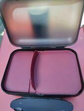 Tupperware  boîte dejeuner lunch box esprit bento pique nique compartiment  noir