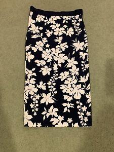 NWT Michael Kors floral print Skirt Small MSRP $125
