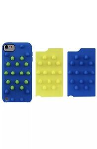Griffin Funky Touch Apple Touch Case For Generation 5 Varsity Blue Green Citron