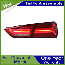 Car LED Taillights Assembly For Chevrolet Malibu 2016-2019 Red LED Rear lights