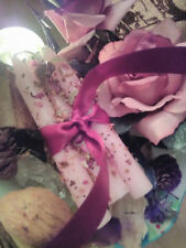 Love Conjure Candle (Three) loaded with Herbs Roses oils Hoodoo Wiccan Spells