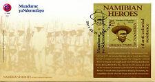 Namibia 2017 FDC Mandume yaNdemufayo Namibian Heroes 1v M/S Cover Stamps