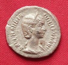 Ancient Roman Orbiana Silver Denarius, Rare!