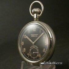 Uhrenfabrik Büren A.G. - A. Lünser BERLIN - German Mens Pocketwatch ca. 1935