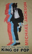Michael Jackson King of Pop rest in peace t-shirt extra large for men Xl